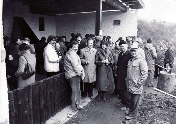 Einweihung Grillhütte Tierbachtal