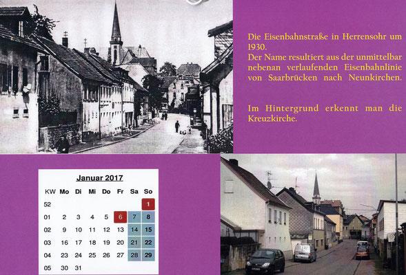herrensohr eisenbahnstraße 1930