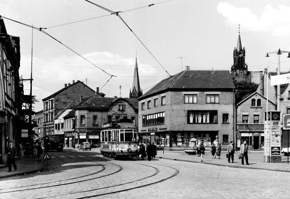 Dudweiler Markt um 1960
