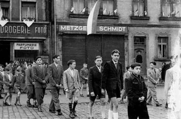 Markt Dudweiler ca. 1950