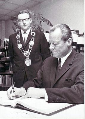 Willy Brandt in Dudweiler