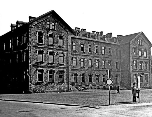 Marktschule Dudweiler ca. 1955