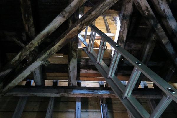 Gebälk Rathausturm