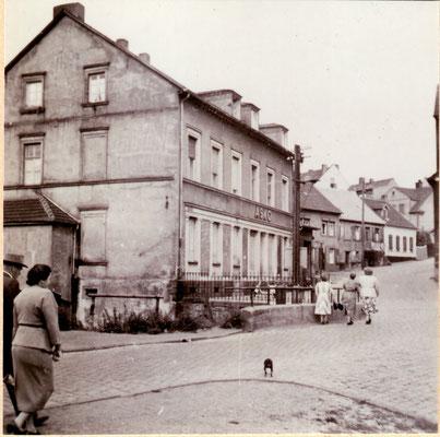 Jägersfreude, Hammerstraße.   Foto: Archiv Wahl, Slg. Haag