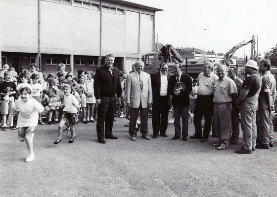 Einweihung Turnhalle Turmschule
