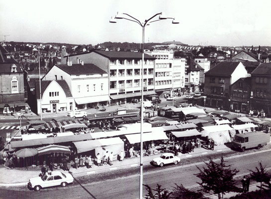 Dudweiler Markt ca. 1981