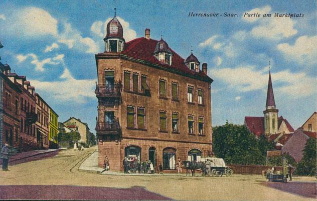 Herrensohr 1926, Marktstraße