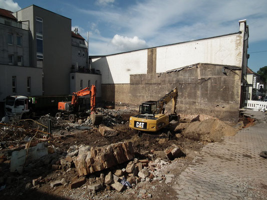 Baustelle DRK-Seniorenheim Dudweiler