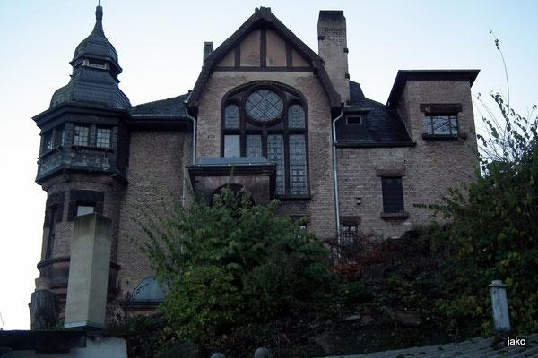 Villa Micka von der Seite