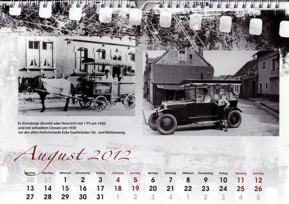 eismann in dudweiler 1920 und 1930