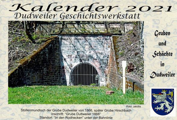 kalender 2021 dudweiler geschichtswerkstatt