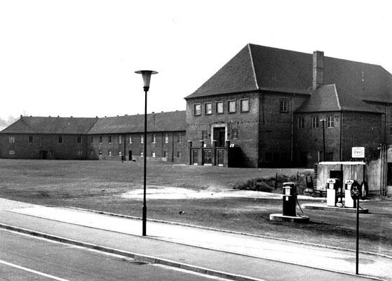 Dudweier ca. 1950, Beethovenstraße, Alte Festhalle