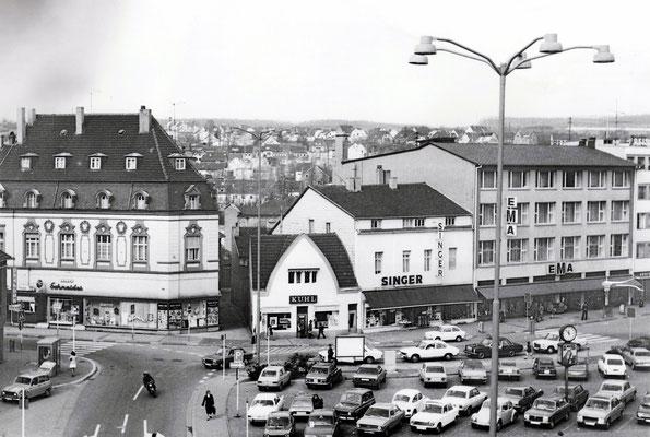 Marktplatz Dudweiler um 1981