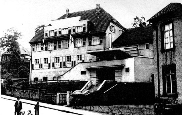 Ev. Gemeindehaus Dudweiler, Am Neuhauser Weg, um 1960