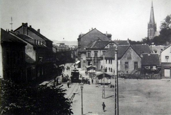 Markt Dudweiler 1906