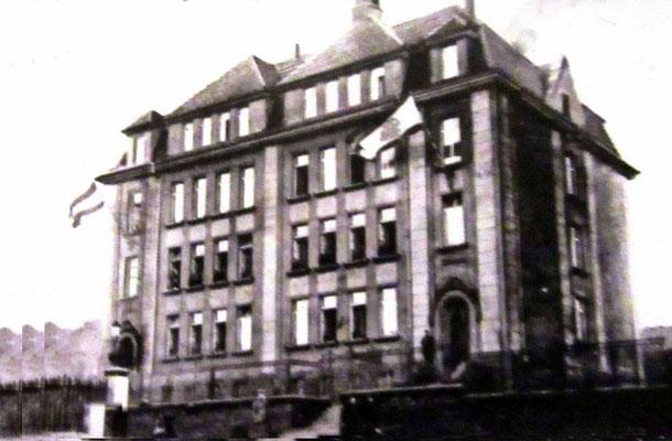 Jägersfreude 1915, Mozartschule damals noch Bismarckschule