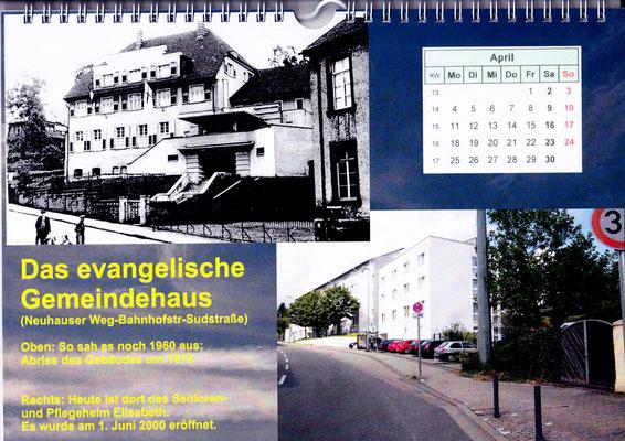dudweiler altes evangelisches gemeindehaus 1960