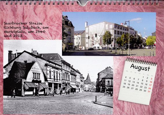dudweiler markt um 1940