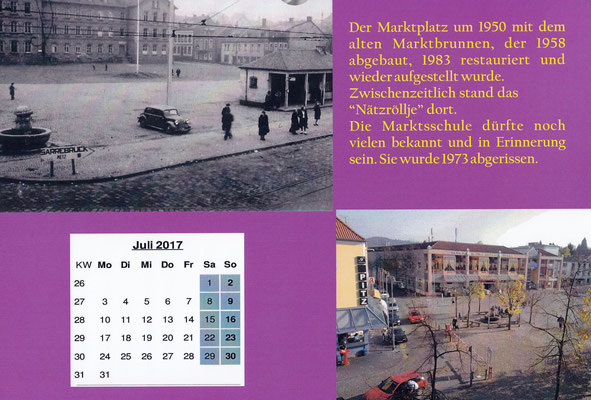 dudweiler marktplatz 1950 marktschule