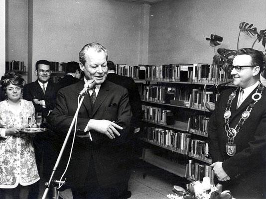 Bundeskanzler Willy Brandt in Dudweiler