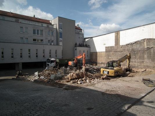 Baustelle DRK-Seniorenheim