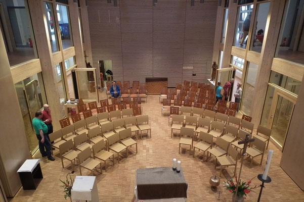 St. Bonifatius Raum für Gottesdienste