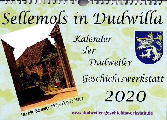kalender 2020 dudweiler geschichtswerkstatt