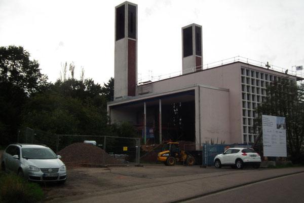 Umbauarbeiten St. Bonifatius Dudweiler