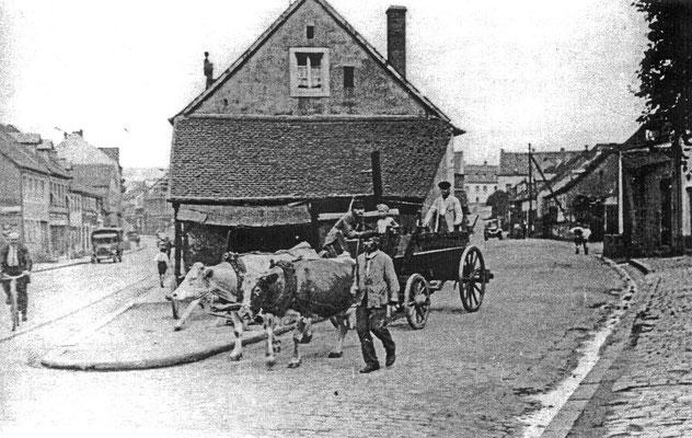 Alte Schmiede Ecke Mühlenweg 1935