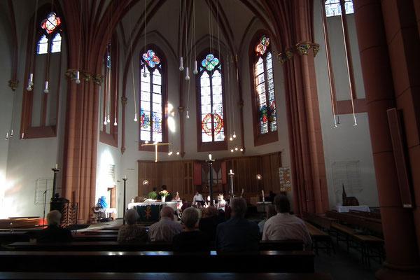 Innenraum Christuskirche Dudweiler