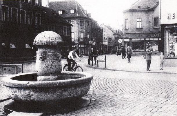 Brunnen Dudweiler Markt