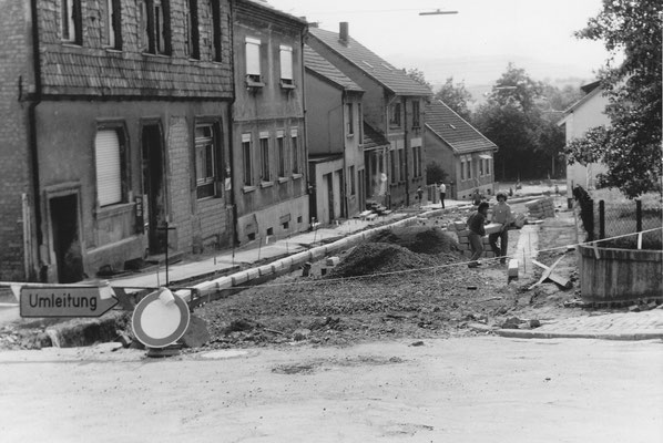 Herrensohr, Römerstraße, Ausbau 1972