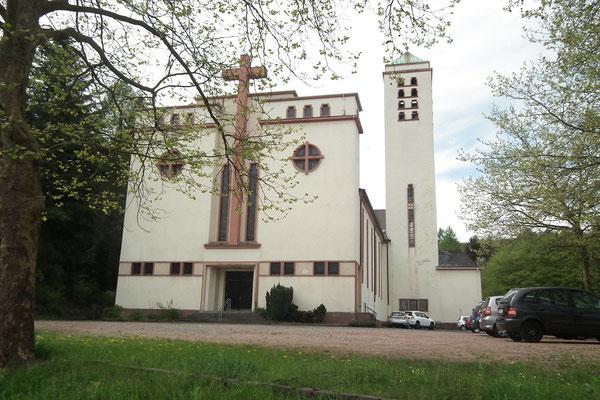 Vorderansicht St. Marien, Herrensohr