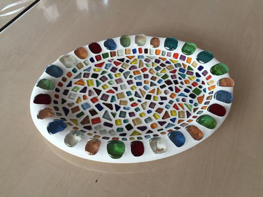 Mosaik mit Glas Nuggets