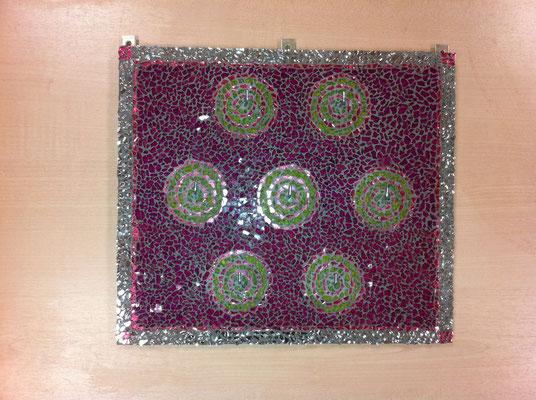 Crackle Mosaik Bild