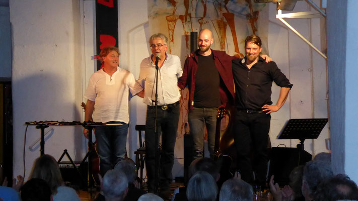 SIGI ALDENHOFF AM 11.4.19 IM ALTBAU | FOTO: Hans-Jürgen Berger