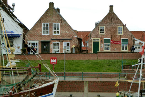 Kapitänshäuser in Greetsiel