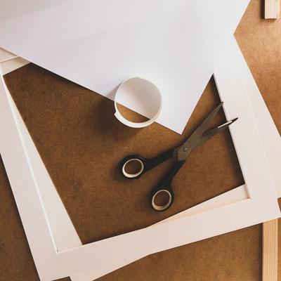 4onepictures produktion passepartout - handgemacht - bilderrahmen