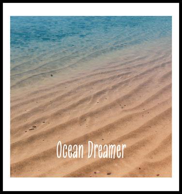 ocean dreamer premium poster - natur fotografie - wellen - strand - ocean