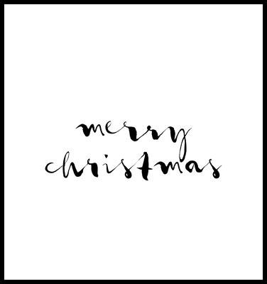 Christmas premium poster - weihnachten - typografie - winter - spruch - qoutes