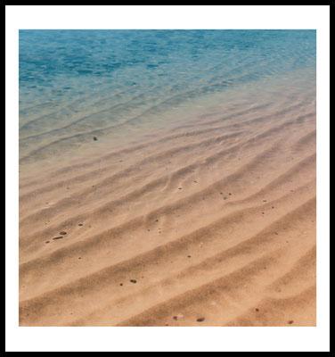 ocean waves premium poster - natur - strand motiv - beach - sommer - wasser