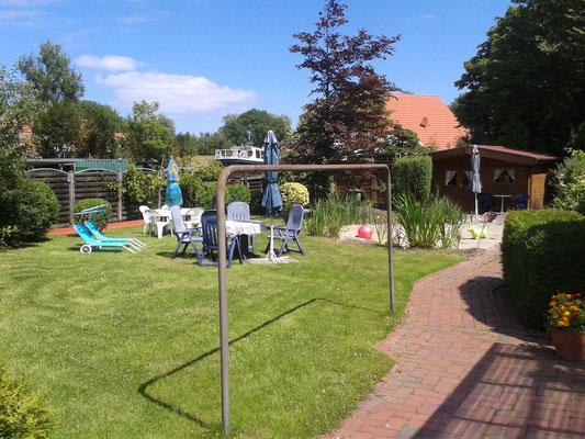 Gartenanlage Blinkfuer
