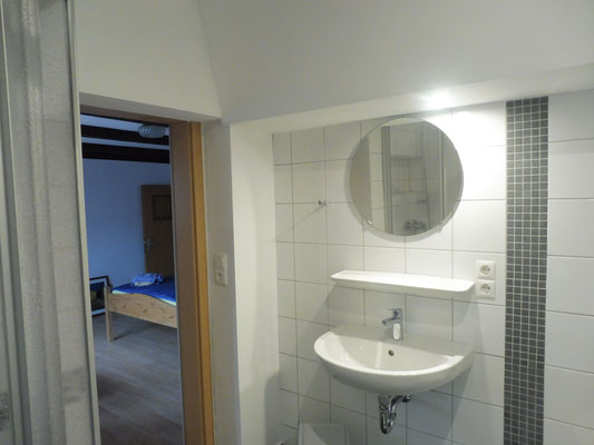 Badezimmer Apartment Ebbe