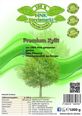 Finnischer Premium Birkenzucker Xylit