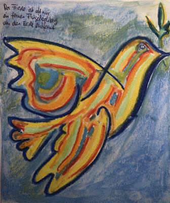 Der Friede ist oft nur ein Flügelschlag von der Erde entfernt