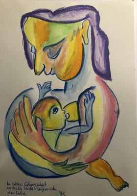 In solcher Geborgenheit wachsen leicht Luftwurzeln der Liebe