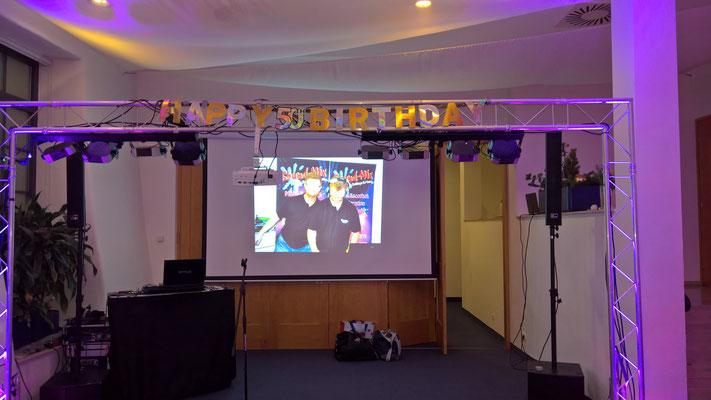 Sound-Mix DJ Team - Geburtstag und Bühnenjubiläum
