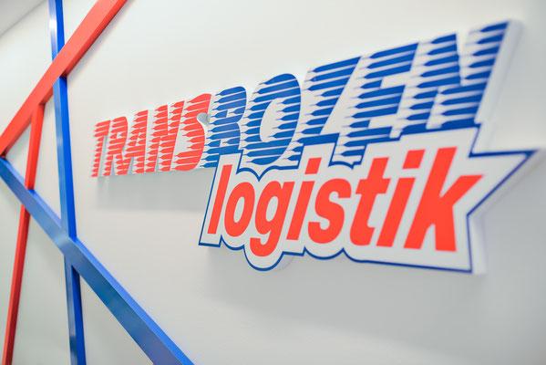 TransBozen / Logo Innenbereich
