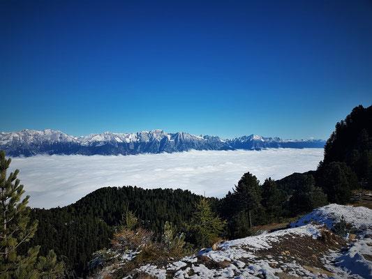 Am Zirbenweg über den Wolken...