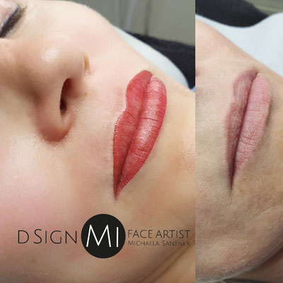 Lippen - Microblading - d sign Mi Tirol/Innsbruck Permanent Make up